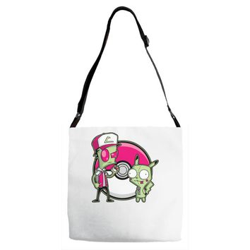 po gir mon Adjustable Strap Totes