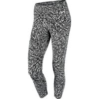 Nike Club Printed Cropped Workout Leggings