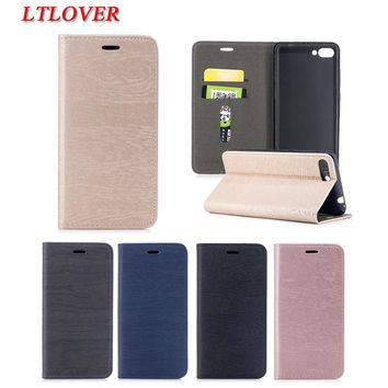 For Asus ZC554KL Cover Luxury Retro Tree PU Flip Leather Case For Asus Zenfone 4 Max ZC554KL Cases Mobile Phone Shell Card Slots