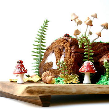 DIY Woodland Cake Decorating Set (Single set) by Andie's Specialty Sweets
