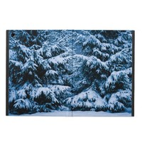 Winter Forest Christmas Tree iPad Air Cases