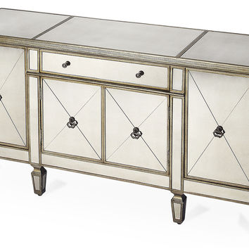 "Adok Mirrored 62"" Sideboard, Buffets & Sideboards"