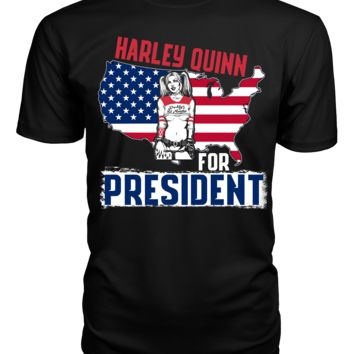 Harley Quinn for President Suicide Squad T Shirt Tank Top Hoodie
