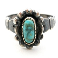Bells Trading Co Turquoise Ring Sterling Silver