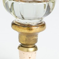 Vintage Glass Door Knob Wine Stopper