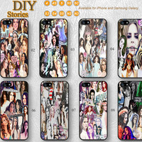 Lana Del Rey, Star, Idol, Phone cases, iPhone 5 case, iPhone 5S 5C Case, iPhone 4/4S Case, Samsung Galaxy S3 S4 S5, Note 2 3, 5C0303
