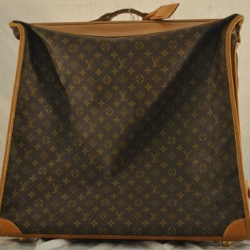 LOUIS VUITTON French Company Monogram Garment Bag 6 Hangers Luggage
