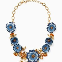 flower child statement necklace
