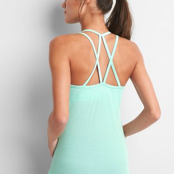 Breathe strappy shelf tank|gap