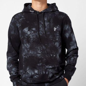 ICIKJH6 HUF Leary Tie-Dye Pullover Hoodie