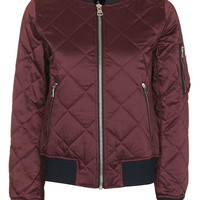Quilted Ma1 Bomber Jacket | Topshop
