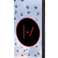 Twenty One Pilots Goner Logo iPhone 5 Case Hardplastic Frame Black Fit For iPhone 5 and iPhone 5s