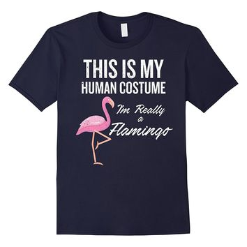 This is My Human Costume- I'm Really a Flamingo Gift T-shirt