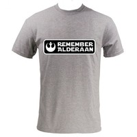 "Star Wars ""Remember Alderaan"" Rebel Alliance T-Shirt"