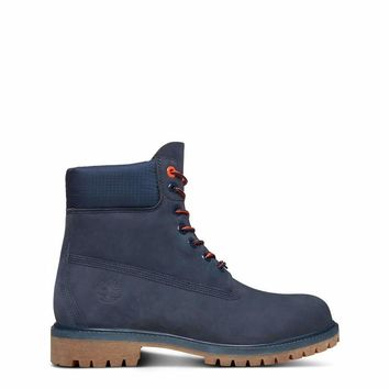 Timberland  Men Blue Ankle boots