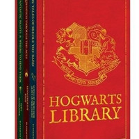 NEW The Hogwarts Library by J.K. Rowling Box Set Harry Potter Gift Hardcover