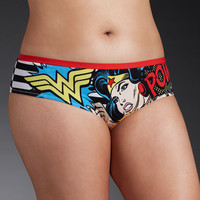 Wonder Woman Striped Pow Hipster Panty