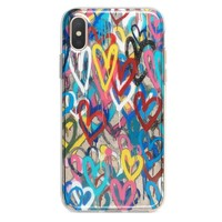 Love Wall iPhone Xs Max case