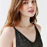 Metal Choker Necklace - Urban Outfitters
