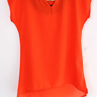Persimmon Reagan Chiffon Top