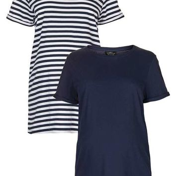 **MATERNITY Multipack Boyfriend Tee - Maternity - Clothing