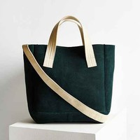 BDG Suede Canvas Handle Tote