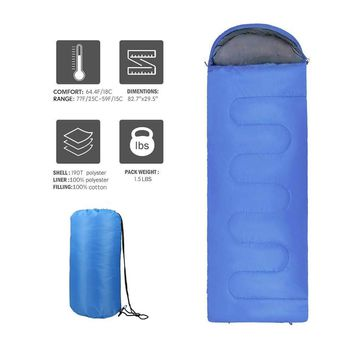 Weanas™ Envelope Camping Sleeping Bag