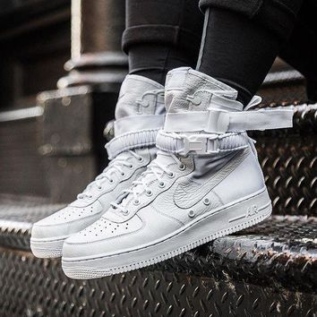 Nike Special Field Air Force 1 Triple White Sneakers One-nice™