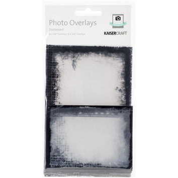 Photo Overlays 16/Pkg-Distressed