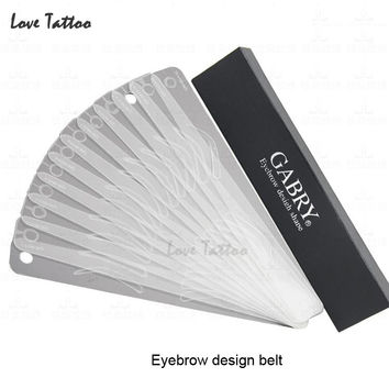 12 Different eyebrow template Magic Eyebrow Stencil  Eye Brow Template Make Up Tool perfect shape Eyebrow design belt