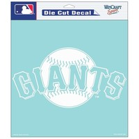"Wincraft San Francisco Giants Diecut Decal  8""x8"" White"