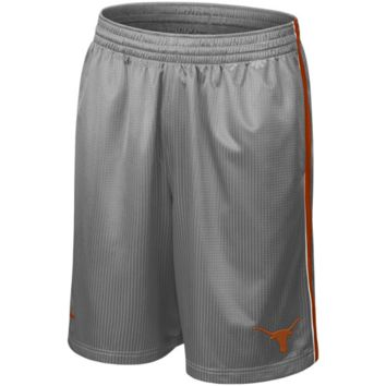Nike Texas Longhorns Gray Layup Basketball Shorts