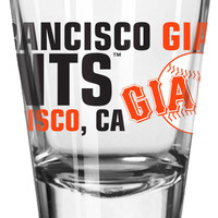 Boelter 2oz Spirit Shot Glass San Francisco Giants