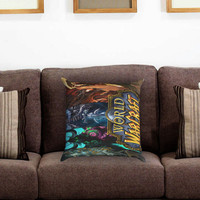 world of warcraft Pillow Cover , Custom Zippered Pillow Case One Side Two Sides