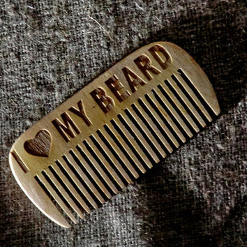 Combs Beard comb Wooden Comb for beard Hair accessories Gift for dad Gift for him Comb wooden hair comb Hair comb Idea for gift Dad gift