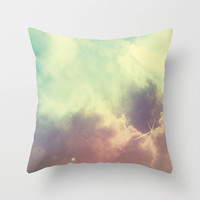Nebula 3 Throw Pillow by ThoughtCloud
