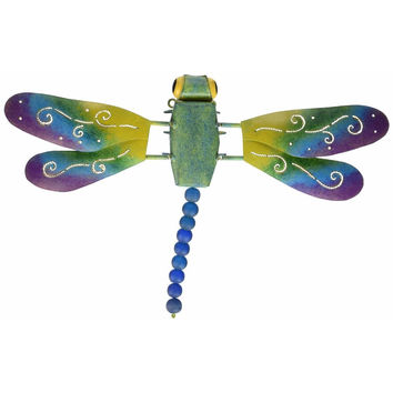 D Art Collection Iron Dragonfly WallDecor