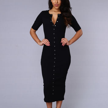 Embezzle Dress - Black