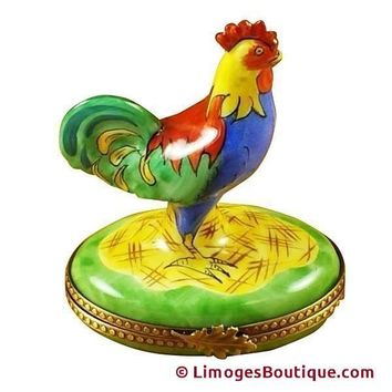 Rooster Limoges Box
