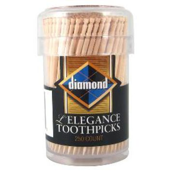 Diamond® L'Elegance Toothpicks - 250ct