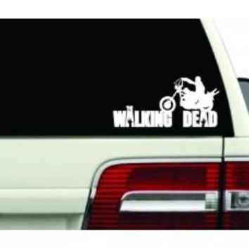 WALKING DEAD zombies Resident Evil Blood Anime door car stickers decals logo Room Wall