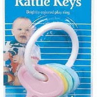 Baby Rattle Keys Case Pack 6