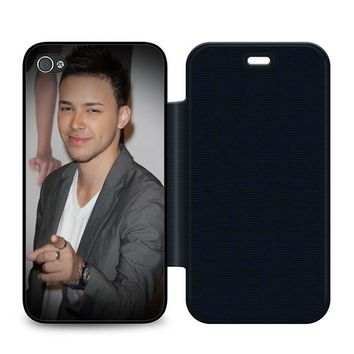 Prince Royce Leather Wallet Flip Case iPhone 4 | 4S