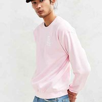 LA Dodgers Embroidered Crew-Neck Sweatshirt - Urban Outfitters