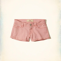 Girls Low-Rise Twill Short-Shorts | Girls Bottoms | HollisterCo.com