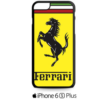 Ferrari Logo iPhone 6S  Plus  Case