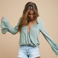 Clock into the Weekend Blouse