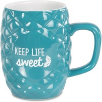 Keep Life Sweet Pineapple Mug