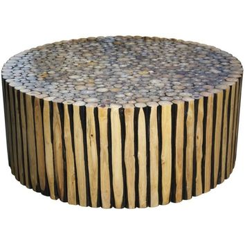 Jed Coffee Table, Round