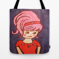 beehive Tote Bag by helendeer